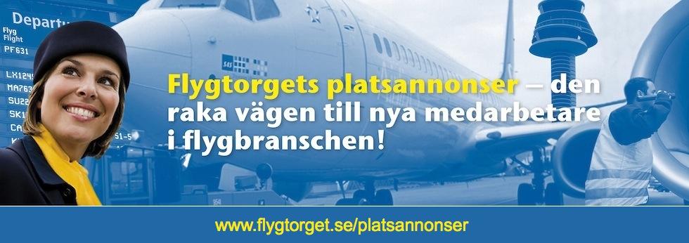 Platsannons på Flygtorget.se